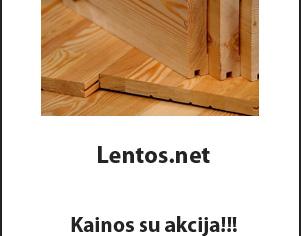 Lentos Kaina su Akcija | Lentos.net